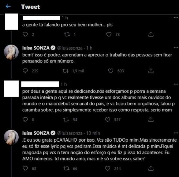 Luísa Sonza rebate críticas após aparecer fumando|Minha Novela